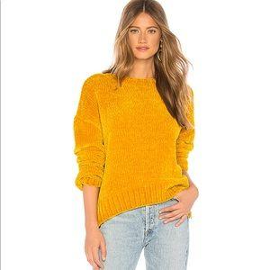 Sanctuary Sweater Chenille Gold Luxurious Softness